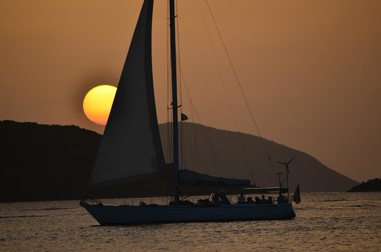 Caneel Bay Resort : Great Sunsets