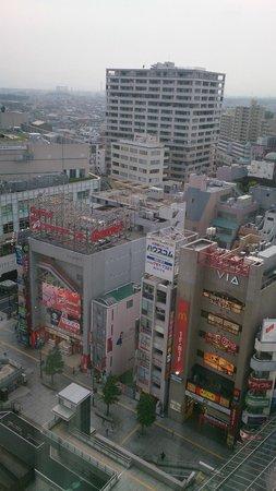 Odakyu Hotel Century Sagami-Ono : 窗外風景