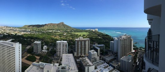 Waikiki Beach Marriott Resort & Spa: View from the room
