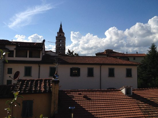 Antica Residenza Gatteschi: Panoramica dal terrazzino comune