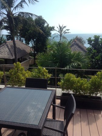 Bali Dynasty Resort Hotel: Great view from tent villa