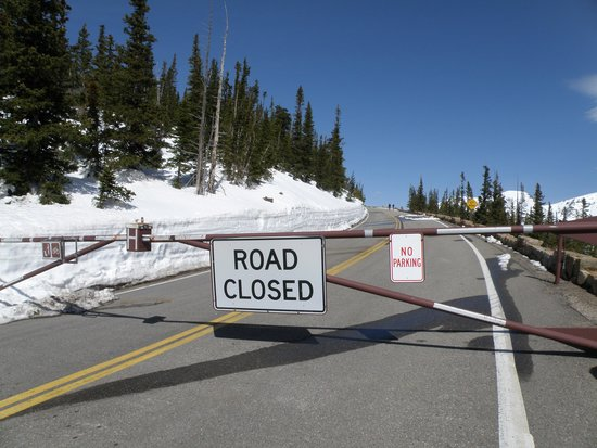 Trail Ridge Road : Closed!