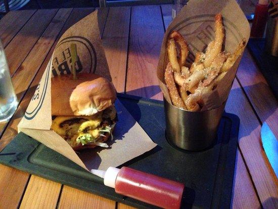 Del Frisco's Grille: Hamburger