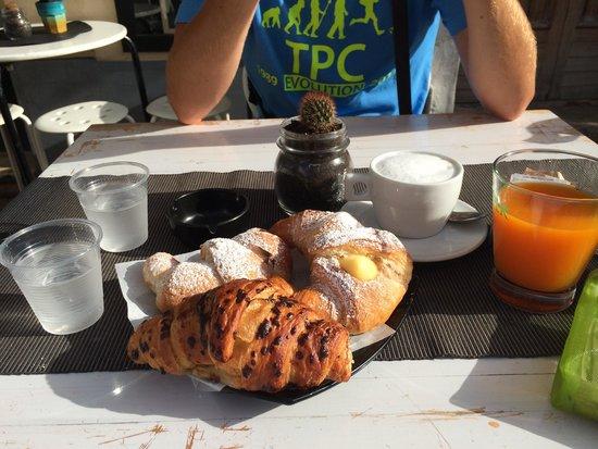 Monique Bar: colazione da monique