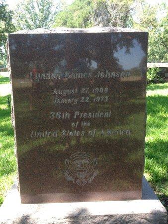 Lyndon B. Johnson National Historical Park: LBJ's Headstone