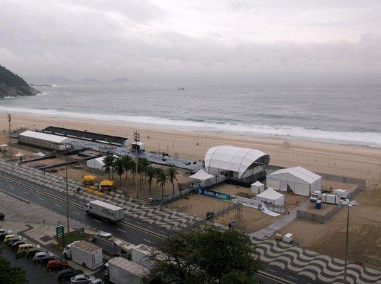 Hilton Rio de Janeiro Copacabana: view from my room 1