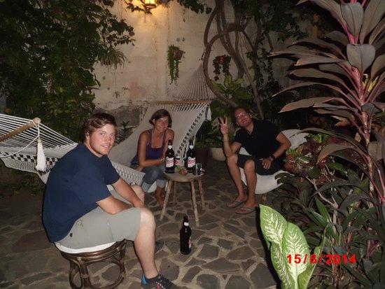 Hostal Casa Ivana: garden