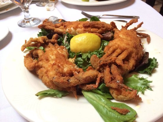 Don Pepe II: Soft shell crab special