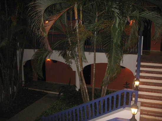 "Catalonia Gran Dominicus : Approach to our room, ""Duarte"" building"