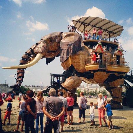 Les Machines de L'ile : The elephant.