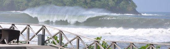 Playa Venao Hotel Resort: Surf's up!