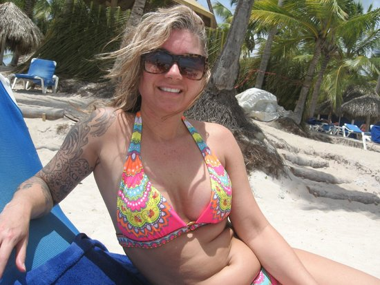 Catalonia Gran Dominicus: My first day out on beach
