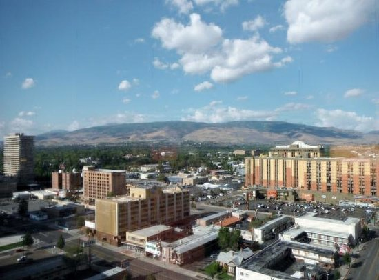 Silver Legacy Resort and Casino: View from Room 1722