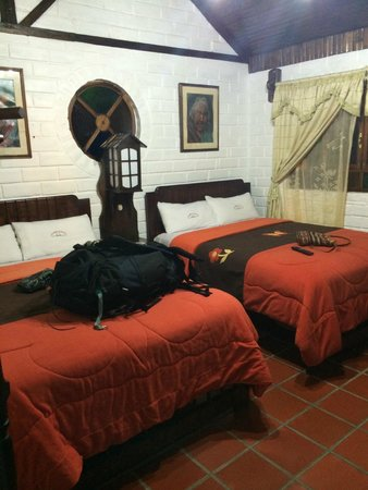 Jardines de Chamana: our room