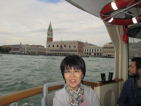 San Giorgio Maggiore: バポレットでサン・ジョルジョへ
