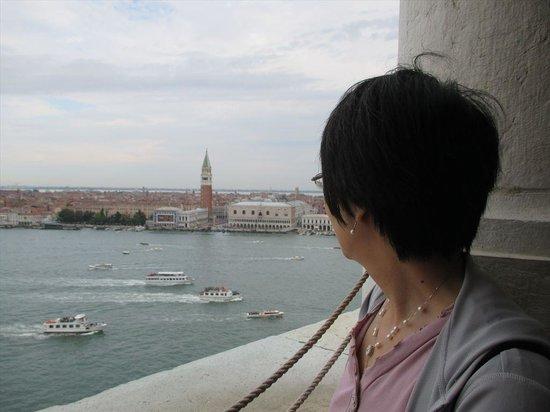 San Giorgio Maggiore: 鐘楼の上から