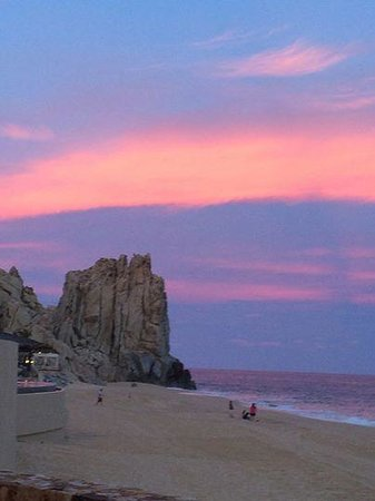 Grand Solmar Land's End Resort & Spa : Sunset from La Roca (restaurant)