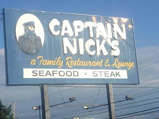 Captain Nicks: Out front