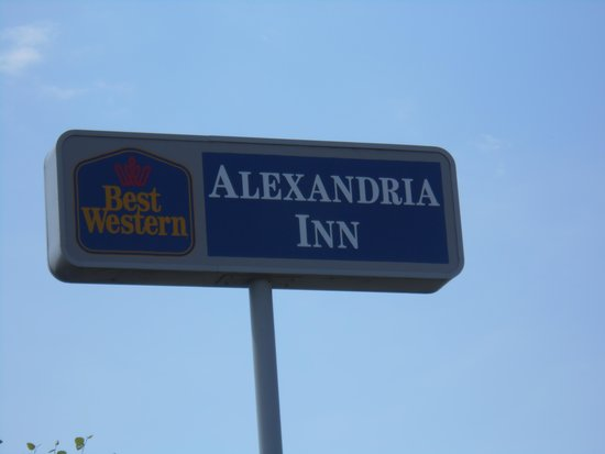 Best Western Alexandria Inn : Sign