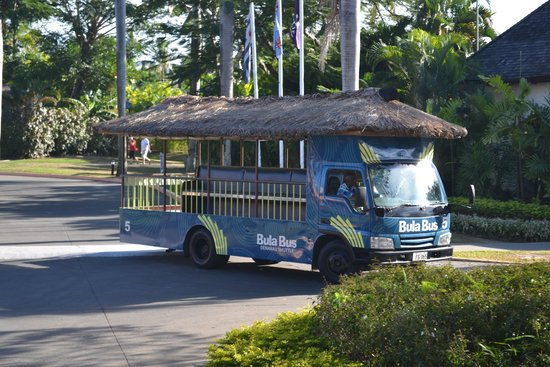 Sheraton Fiji Resort : The Bula Bus