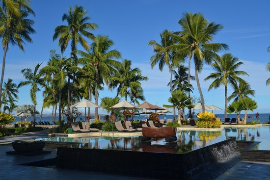 Sheraton Fiji Resort : One of the pools