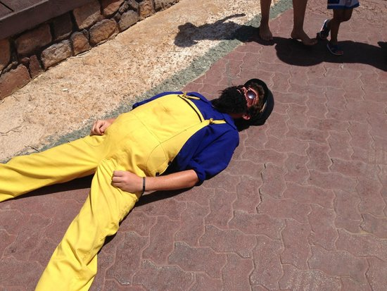 Popeye Village Malta: Staff!