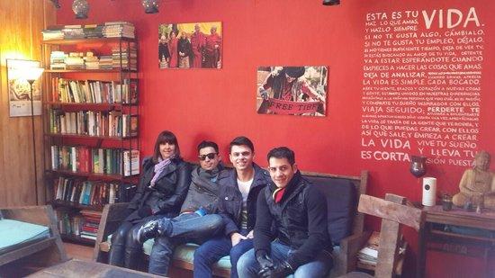 Lounge Brasil: Area comum