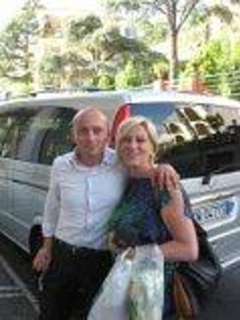 Sorrento First Choice Car Service: Ciro - made our time fun!!