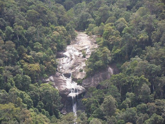 Langkawi Cable Car (Panorama Langkawi Sdn Bhd): The seven waterfalls you can see on the way up