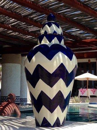 Las Ventanas al Paraiso, A Rosewood Resort: decozione a bordo piscina