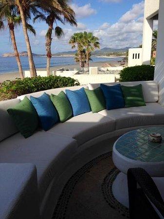 Las Ventanas al Paraiso, A Rosewood Resort: il patio della camera
