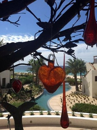 Las Ventanas al Paraiso, A Rosewood Resort: l'albero dei cuori all'ingresso