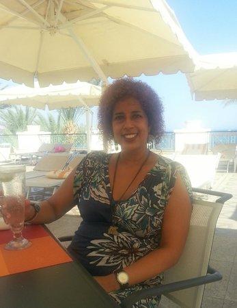 Stella Di Mare Beach Hotel & Spa : Last drink before boarding the plane