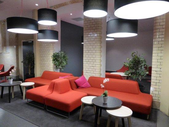 Citybox Oslo: lobby