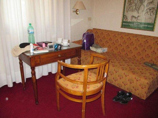 Hotel Agli Alboretti: リビング