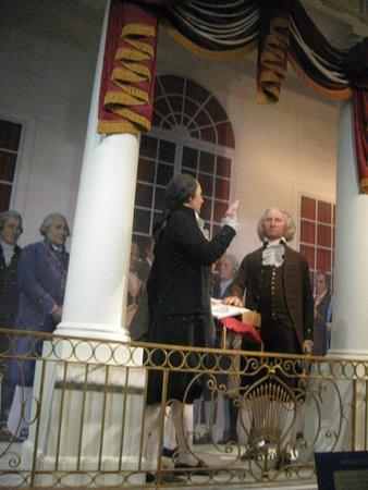 George Washington's Mount Vernon: exhibit