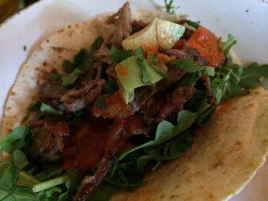 Chow Daddy's: Pork Taco