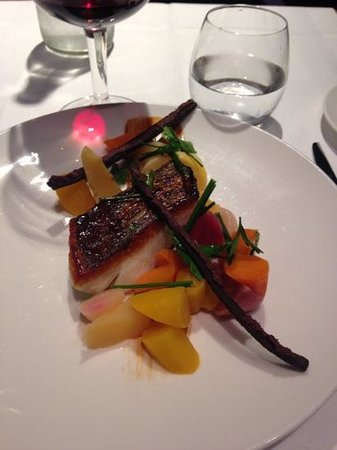 Le Metropolitan, a Tribute Portfolio Hotel : food at the hotel it s cod with garden vegetable from thibaut