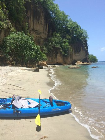 Secret Bay: We kayaked over to Secret Beach for snorkeling in total seclusion.