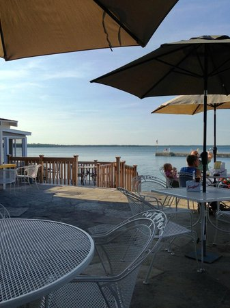 Top Deck Restaurant and Bar: View from patio area