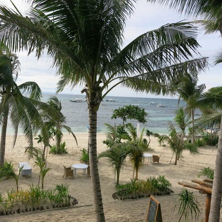 Malapascua Exotic Island Dive & Beach Resort: View from balconcy