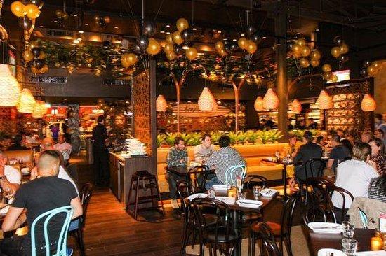 Dining at Bondi Pizza Parramatta