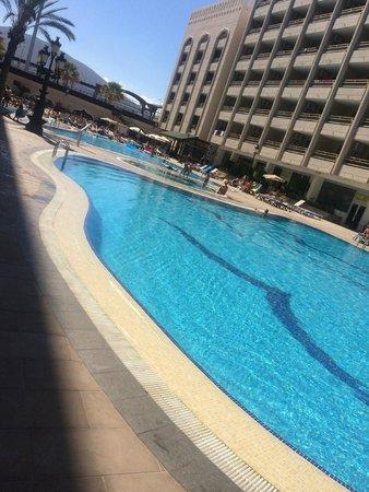 Kn Columbus Aparthotel : Pool in daytime