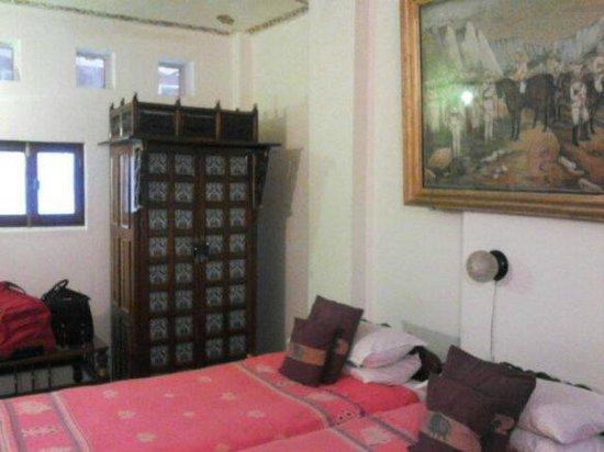 Bundelkhand Riverside: Habitacion del hotel