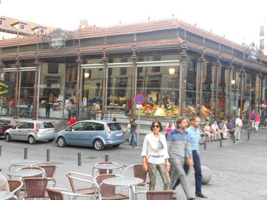 Mercado San Miguel: Frente do mercado