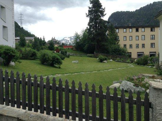 Hotel Post: the garden