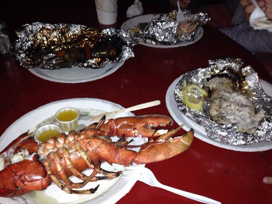 The Place: Well cleaned lobster