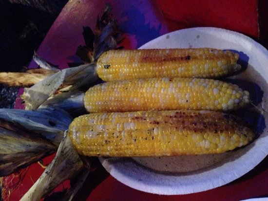 The Place: Yummy fire roasted corns