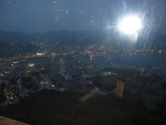 Monte Inasa: 夜景を見ながら、夕食を