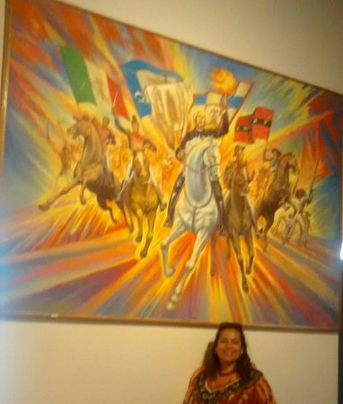 Independence Museum : Bonito cuadro del padre Hidalgo